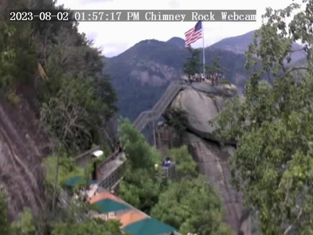Chimney Rock, North Carolina Fri. 14:57