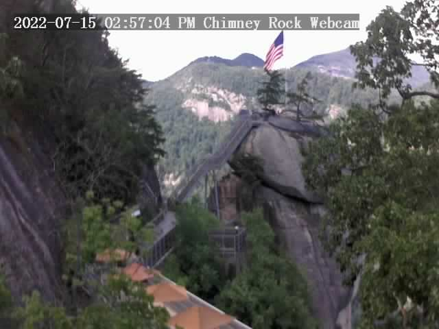 Chimney Rock, North Carolina Fri. 15:57