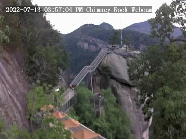 Chimney Rock, North Carolina Fri. 16:57