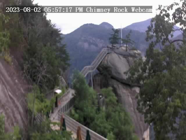 Chimney Rock, North Carolina Fri. 18:57