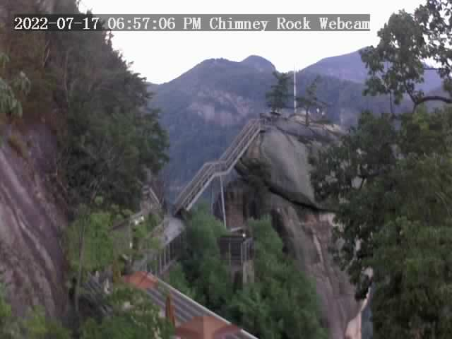 Chimney Rock, North Carolina Fri. 19:57