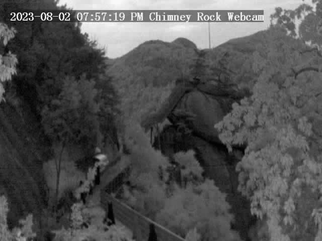 Chimney Rock, North Carolina Fri. 20:57