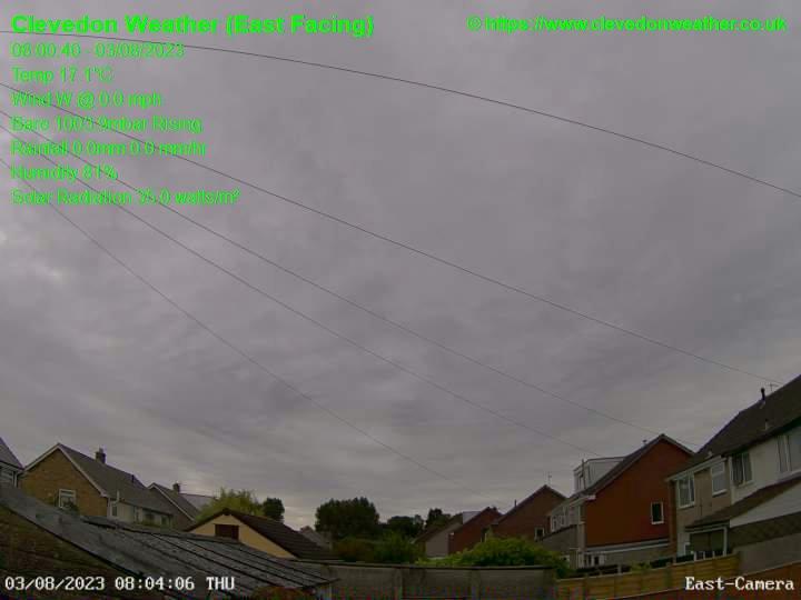 Clevedon Thu. 08:00