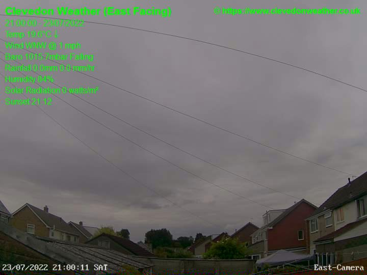 Clevedon Wed. 21:00