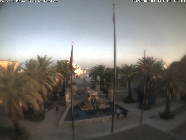 Cozumel Sun. 06:54