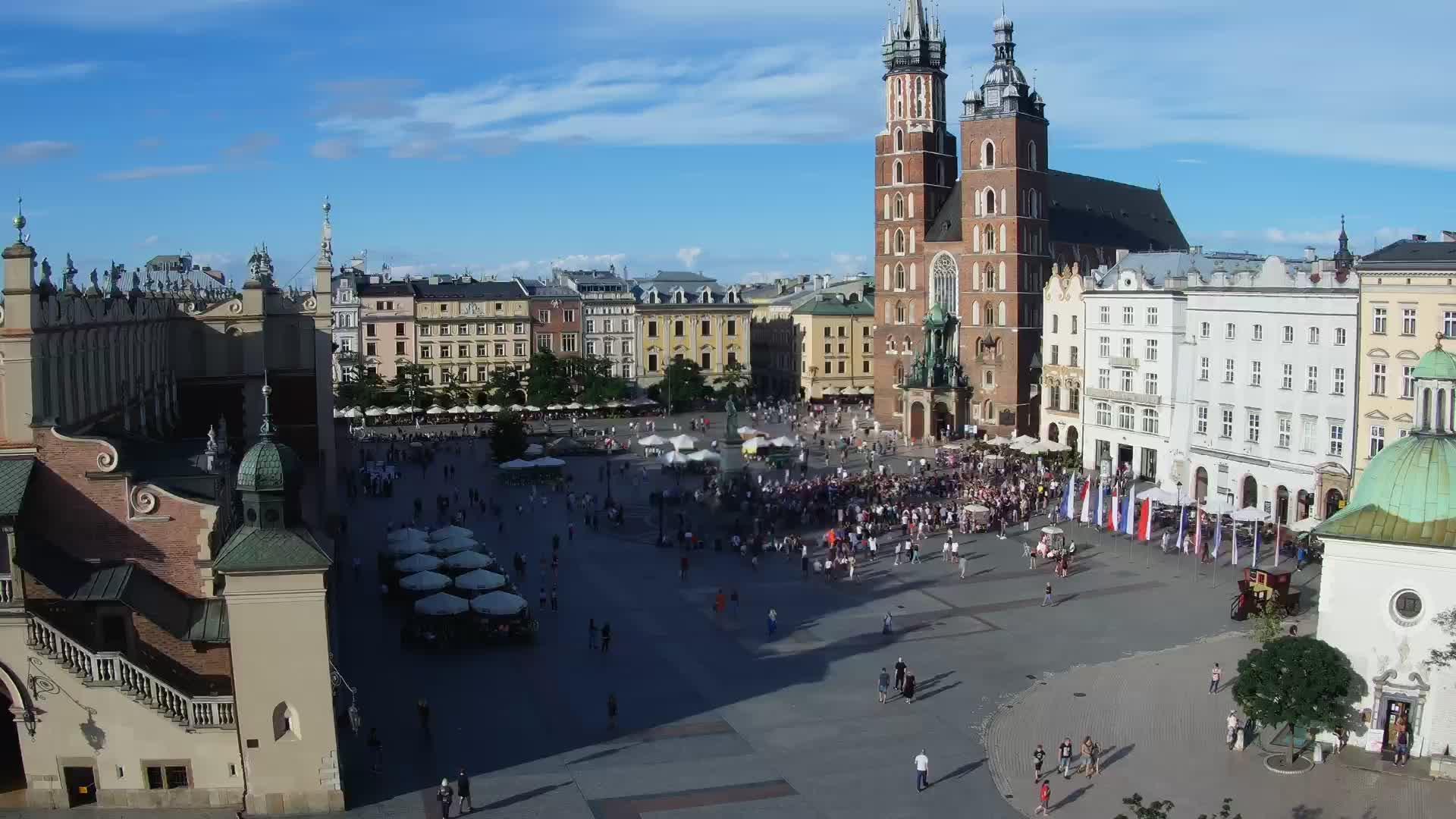 Webcam Cracovia  Centro Storico