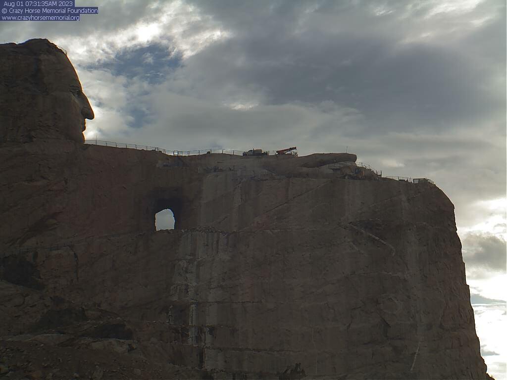 Live Webcam Crazy Horse Memorial South Dakota: View from