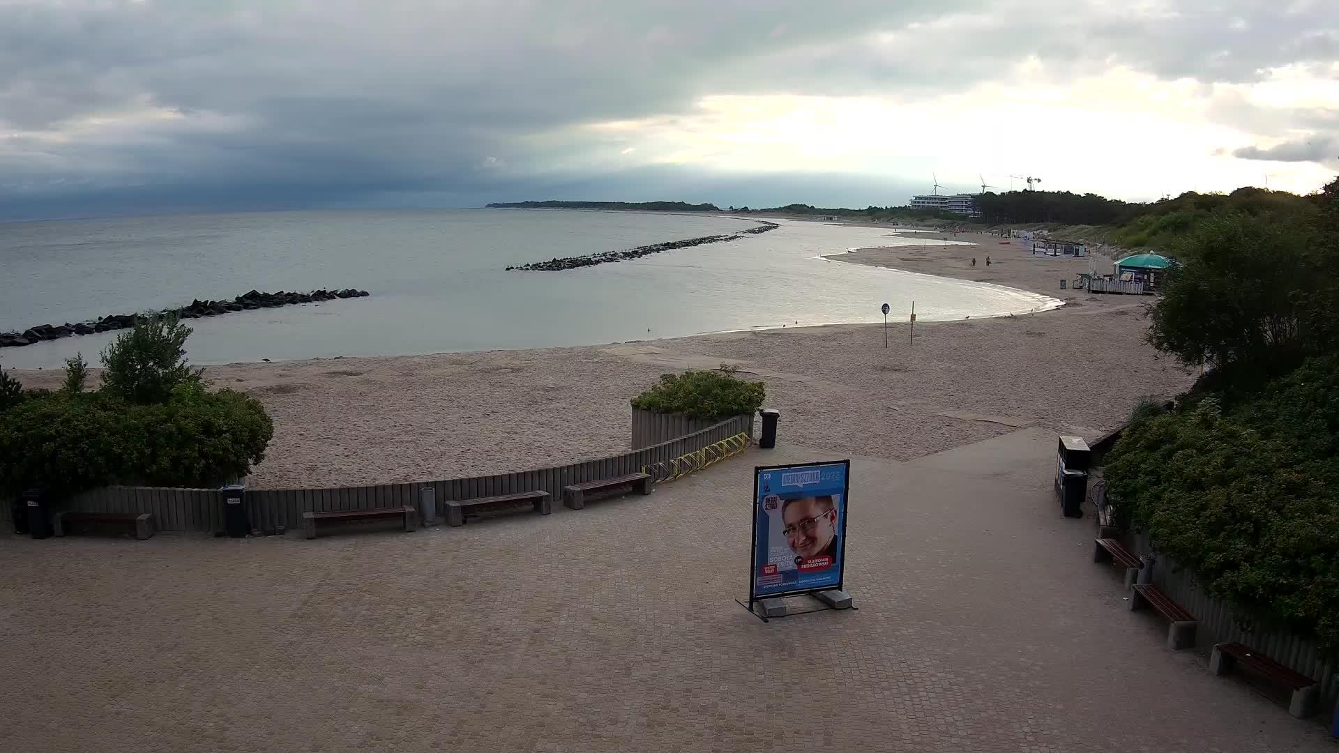 Darłówko: HD-Strandpanorama - Webcam Galore