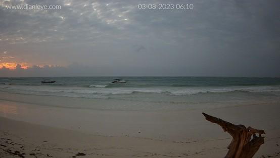 Diani Beach Wed. 06:16