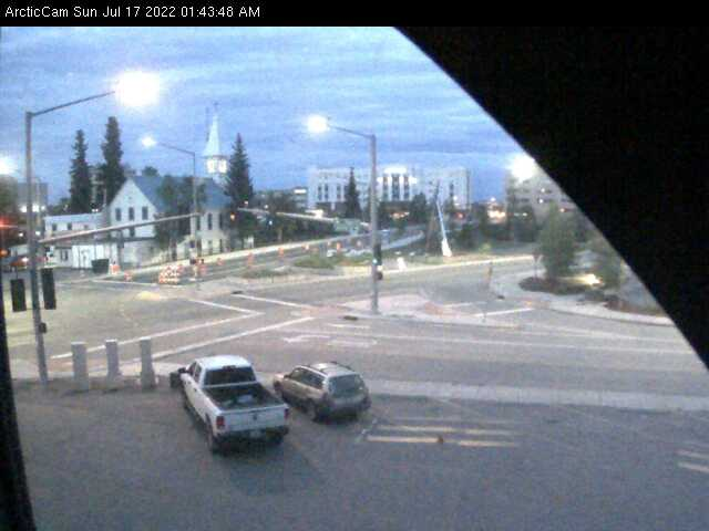 Fairbanks, Alaska Wed. 01:45