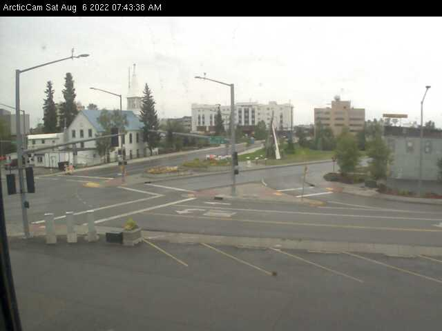 Fairbanks, Alaska Wed. 07:45