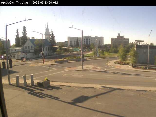 Fairbanks, Alaska Wed. 08:45