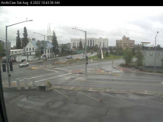 Fairbanks, Alaska Wed. 10:45