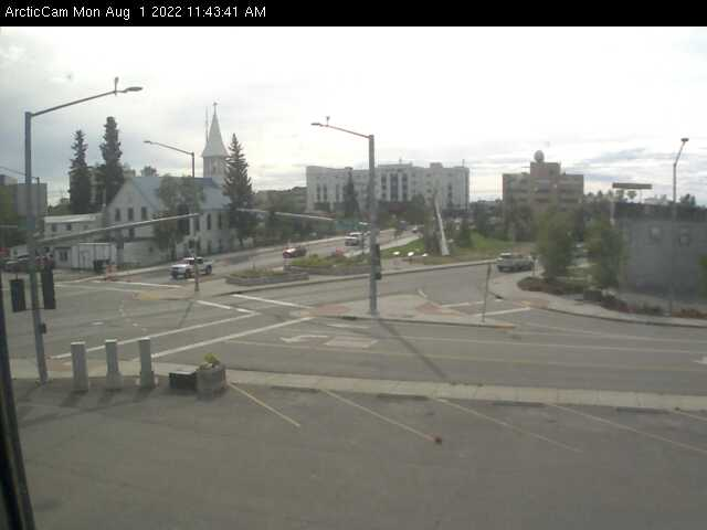 Fairbanks, Alaska Wed. 11:45