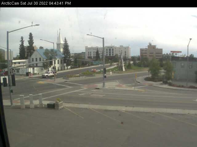 Fairbanks, Alaska Wed. 16:45