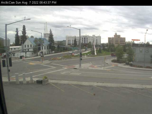 Fairbanks, Alaska Wed. 18:45