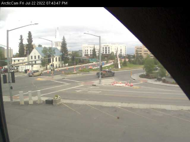 Fairbanks, Alaska Wed. 19:45