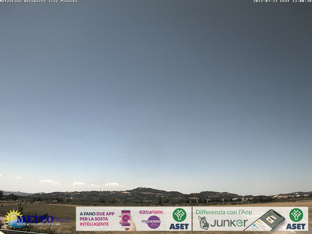 Webcam Fano: Meteofano Live Levante