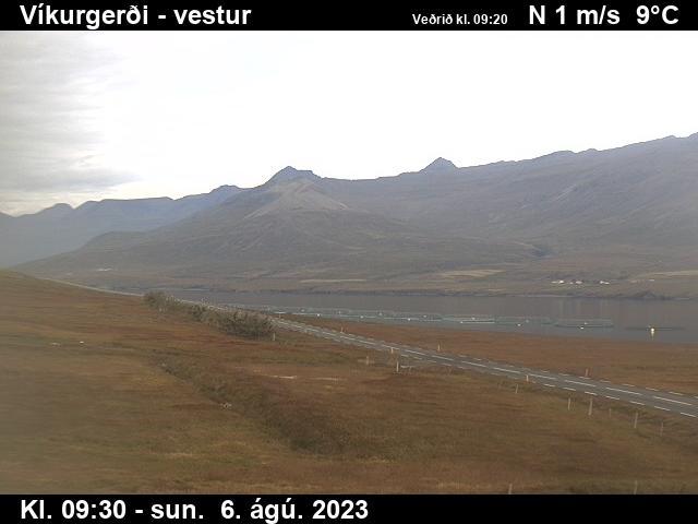 Fáskrúðsfjörður Wed. 09:34