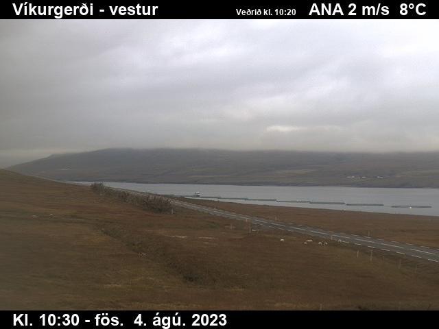 Fáskrúðsfjörður Wed. 10:34