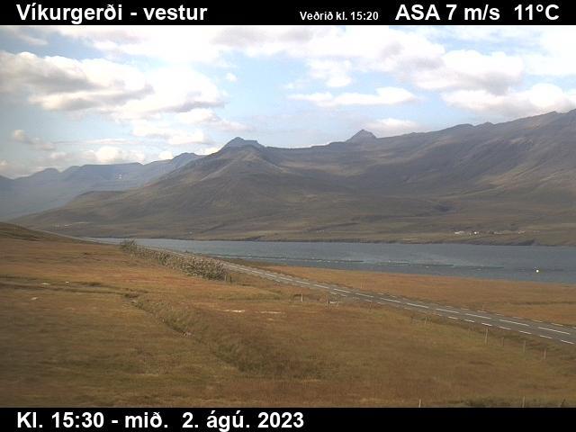 Fáskrúðsfjörður Wed. 15:34