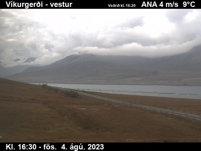 Fáskrúðsfjörður Wed. 16:34
