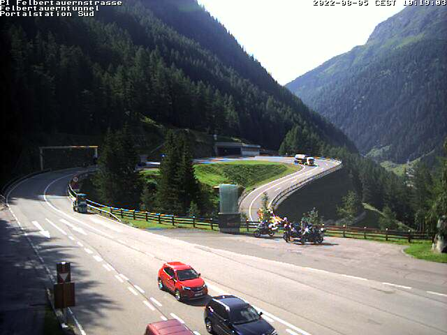 Webcam Felbertauern Felbertauerntunnel South Entrance