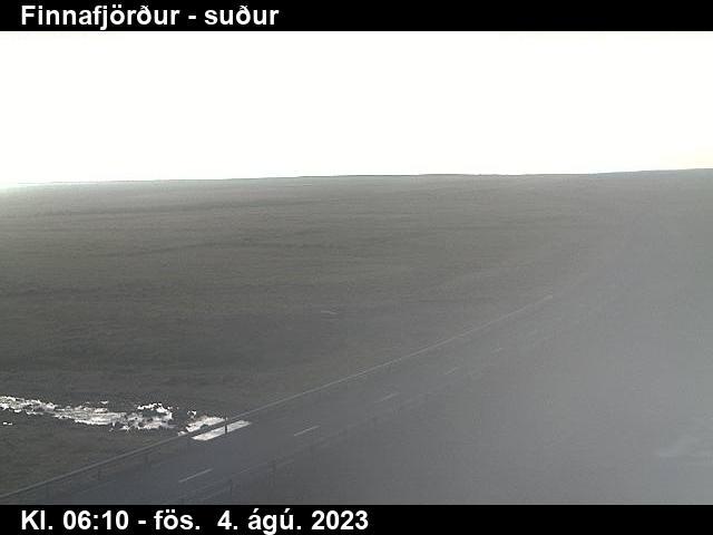 Finnafjörður Mon. 06:15