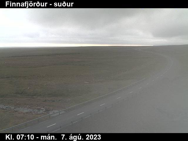 Finnafjörður Mon. 07:15
