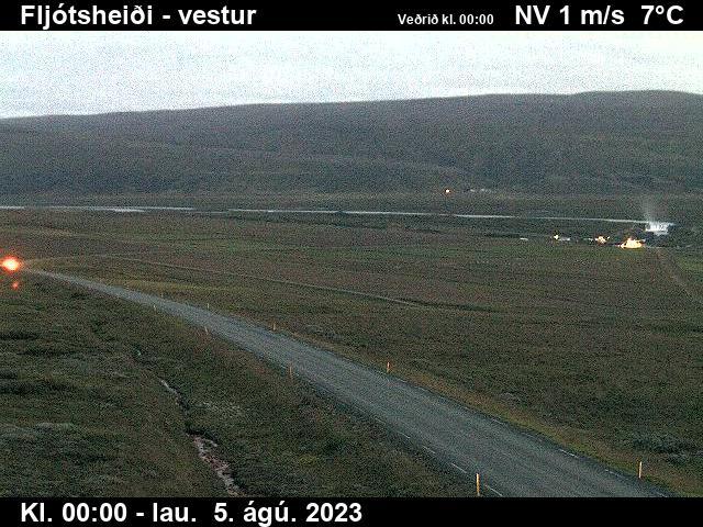 Fljótsheiði Sat. 00:16