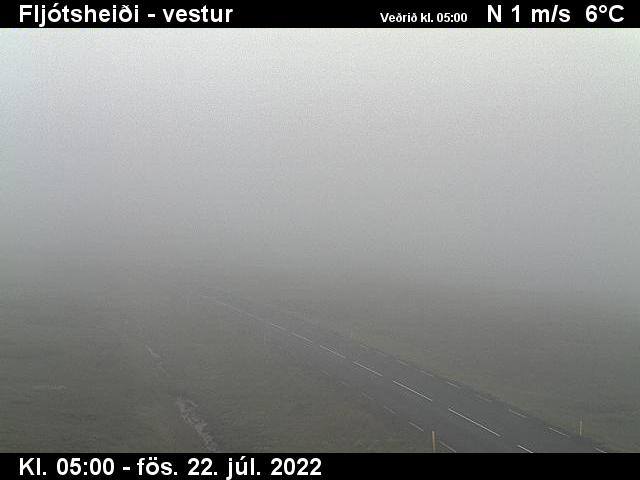Fljótsheiði Sat. 05:16
