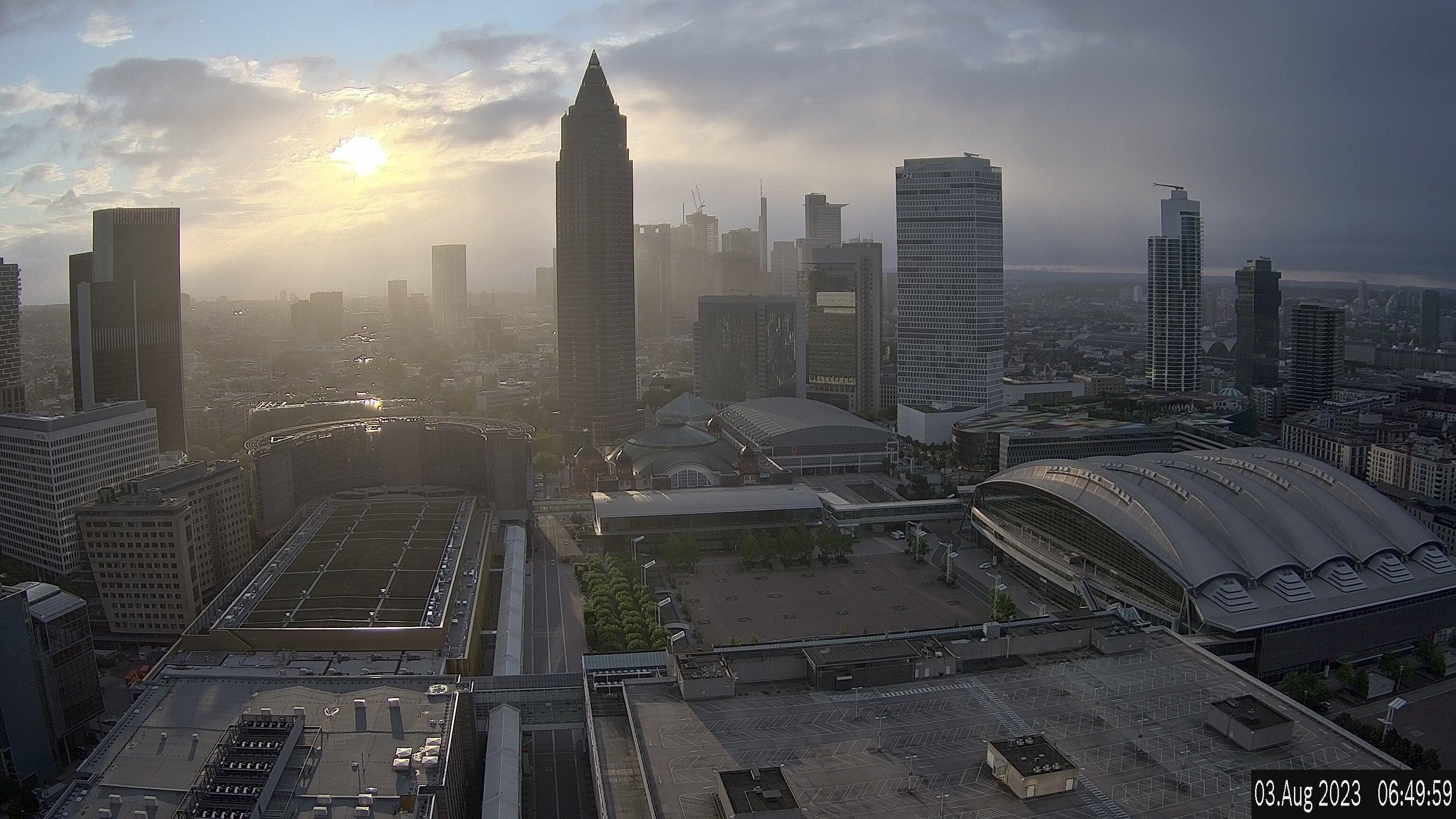 Webcam In Frankfurt