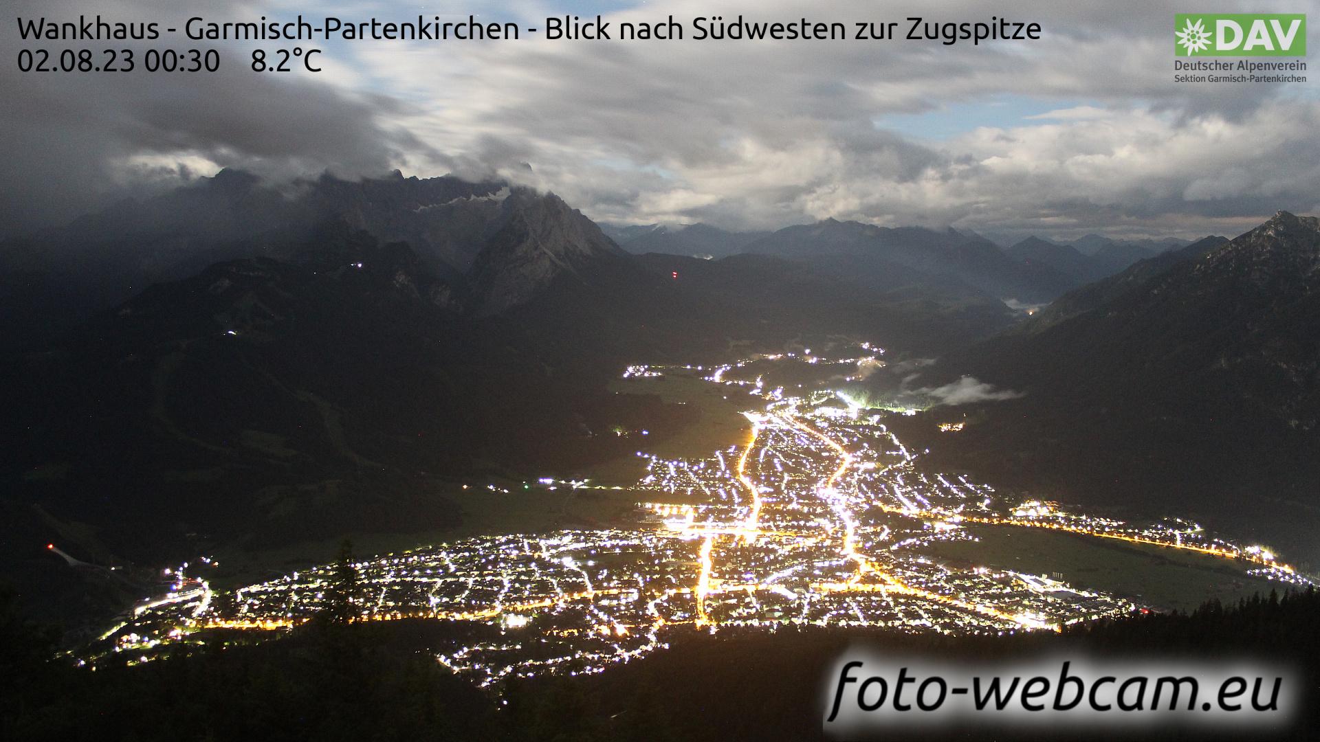 Garmisch-Partenkirchen Tue. 00:52