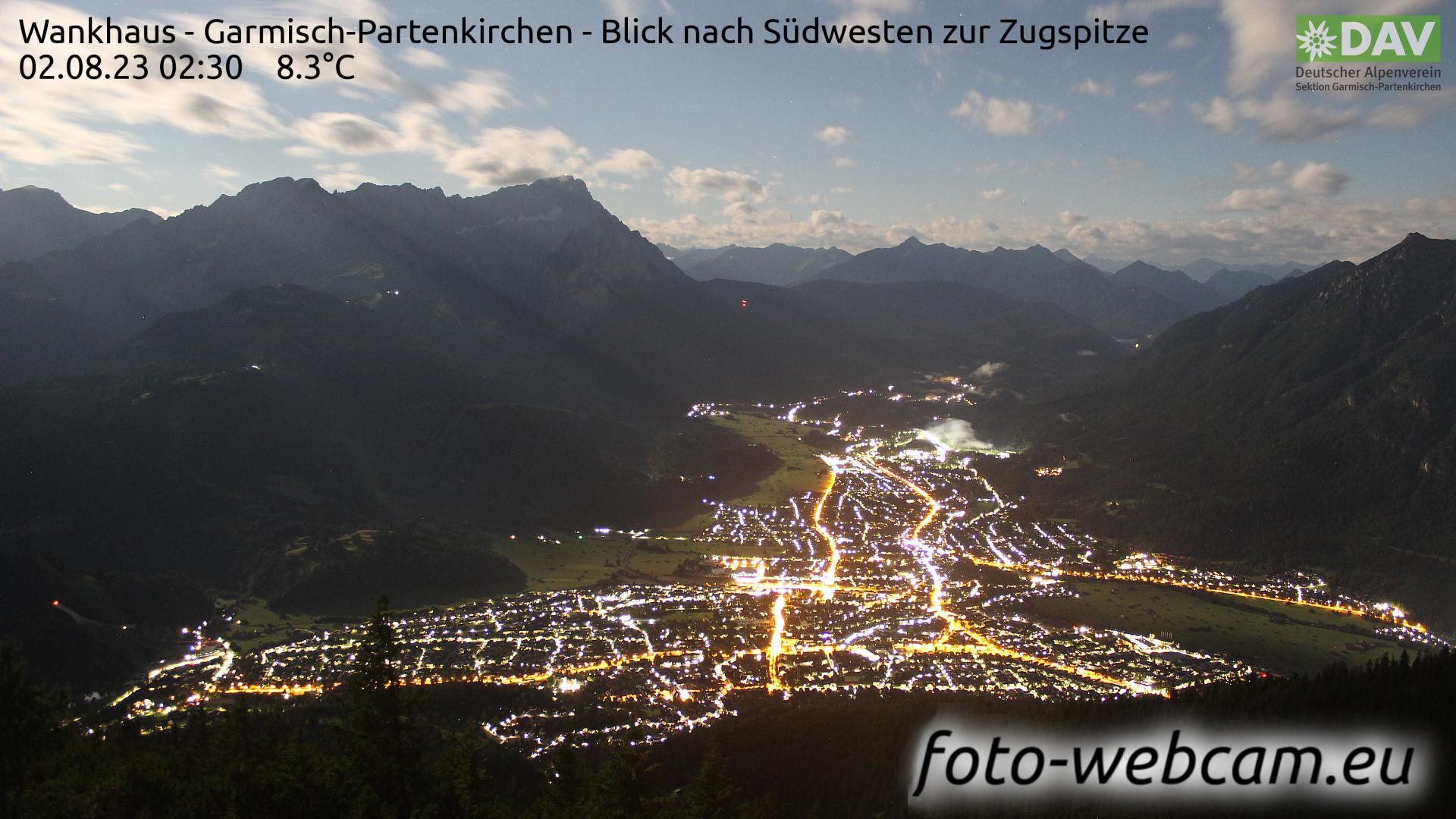 Garmisch-Partenkirchen Tue. 02:52