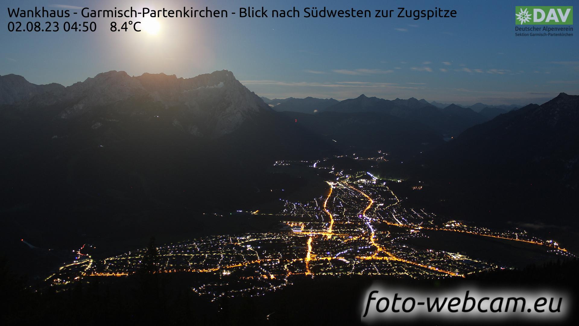 Garmisch-Partenkirchen Mon. 04:52