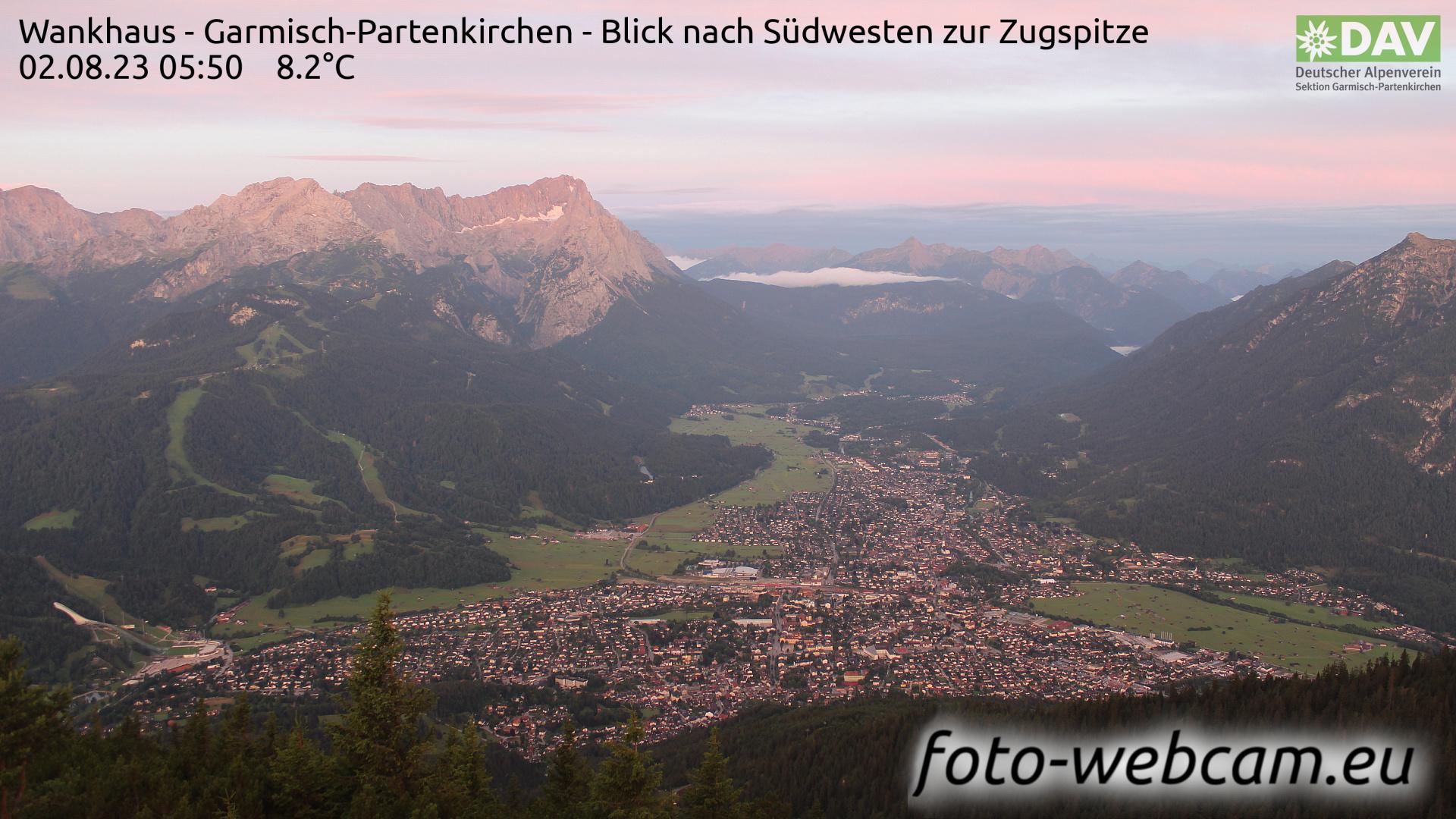 Garmisch-Partenkirchen Mon. 05:52