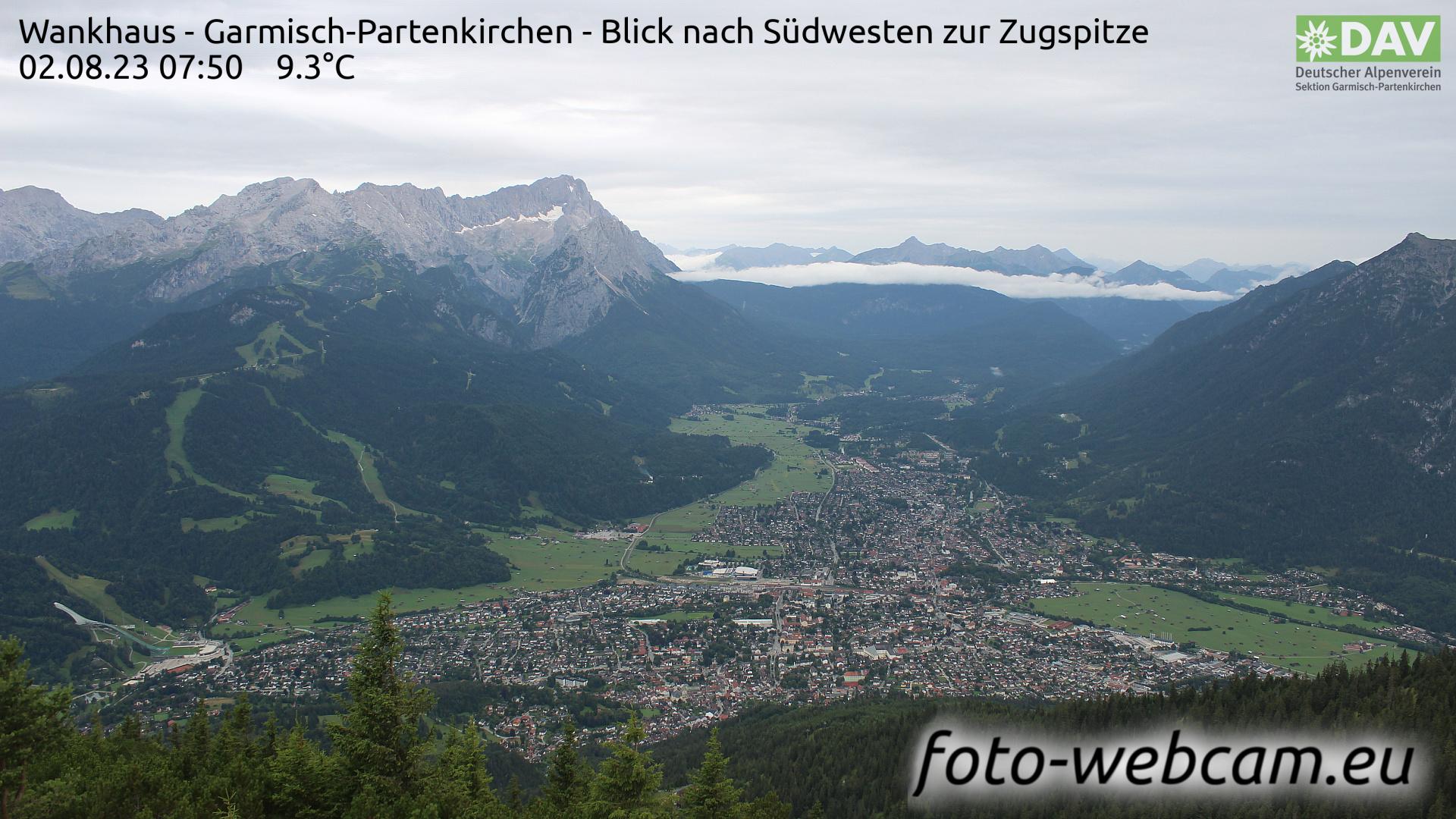Garmisch-Partenkirchen Mon. 07:52