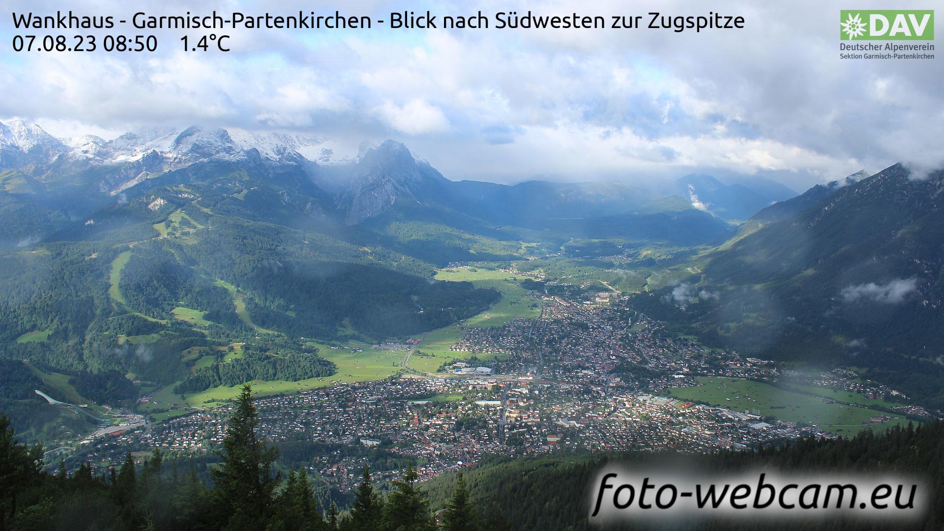 Garmisch-Partenkirchen Mon. 08:52