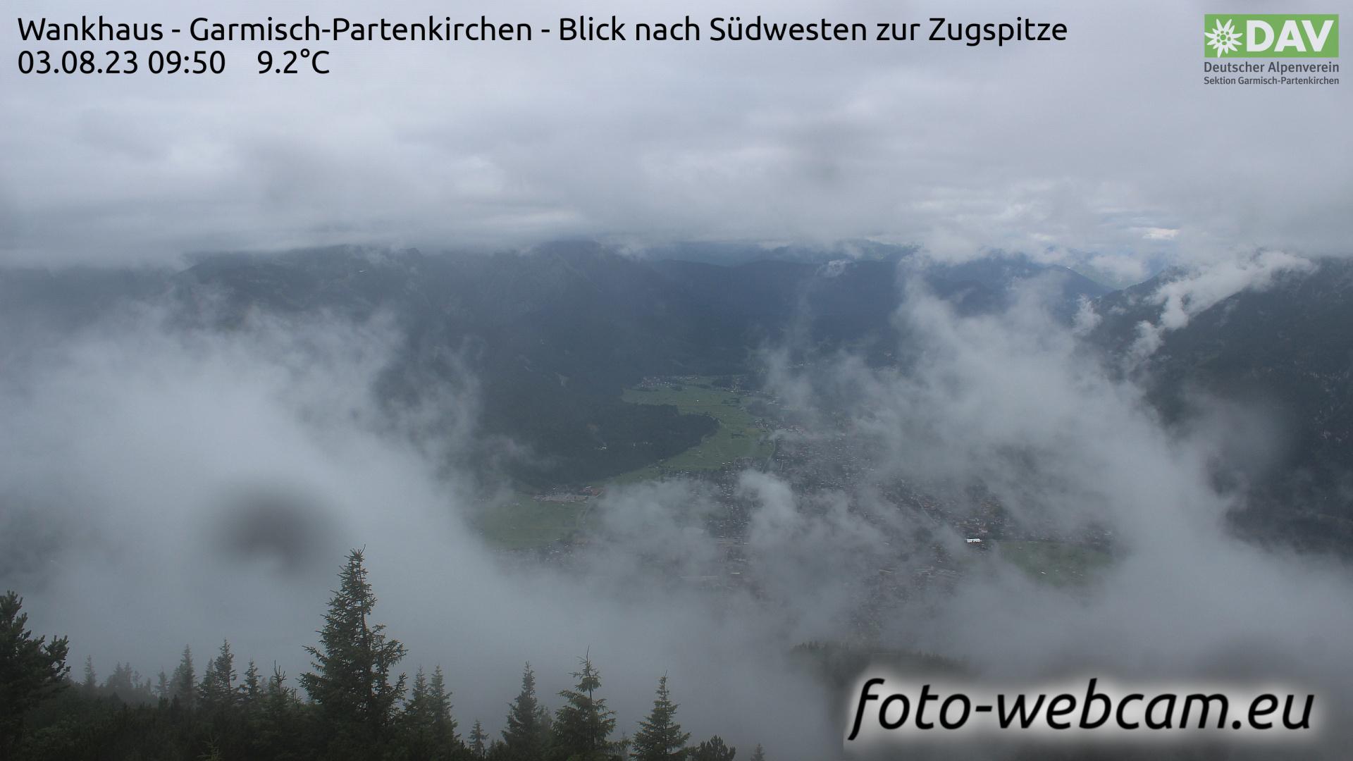 Garmisch-Partenkirchen Mon. 09:52