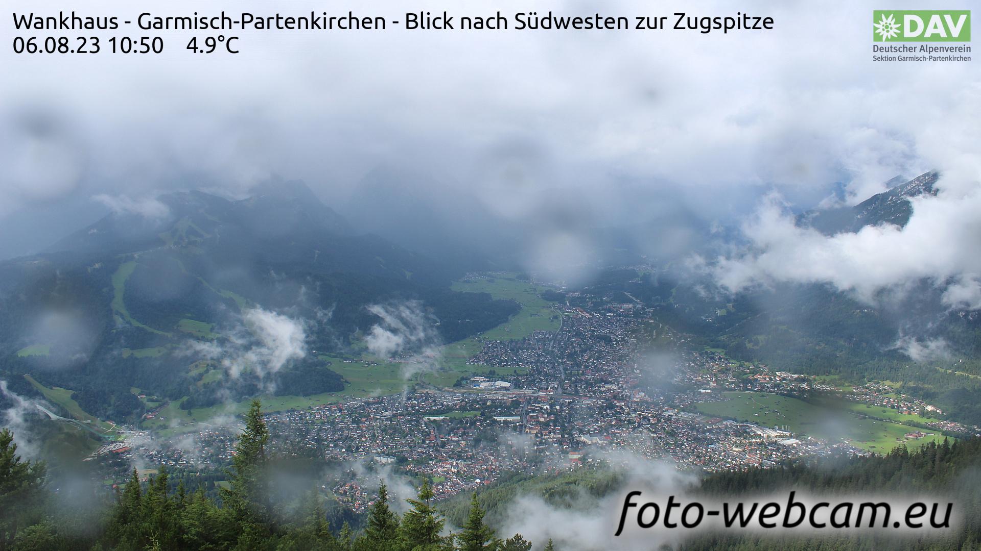 Garmisch-Partenkirchen Mon. 10:52