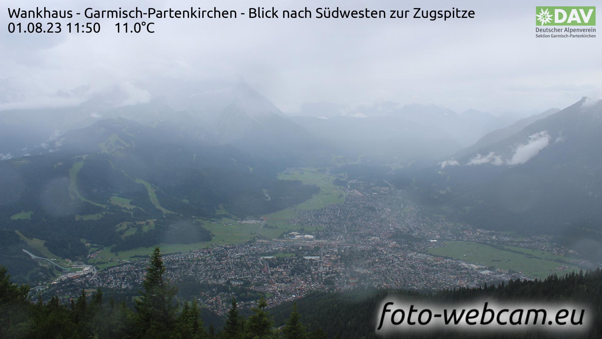 Garmisch-Partenkirchen Mon. 11:52