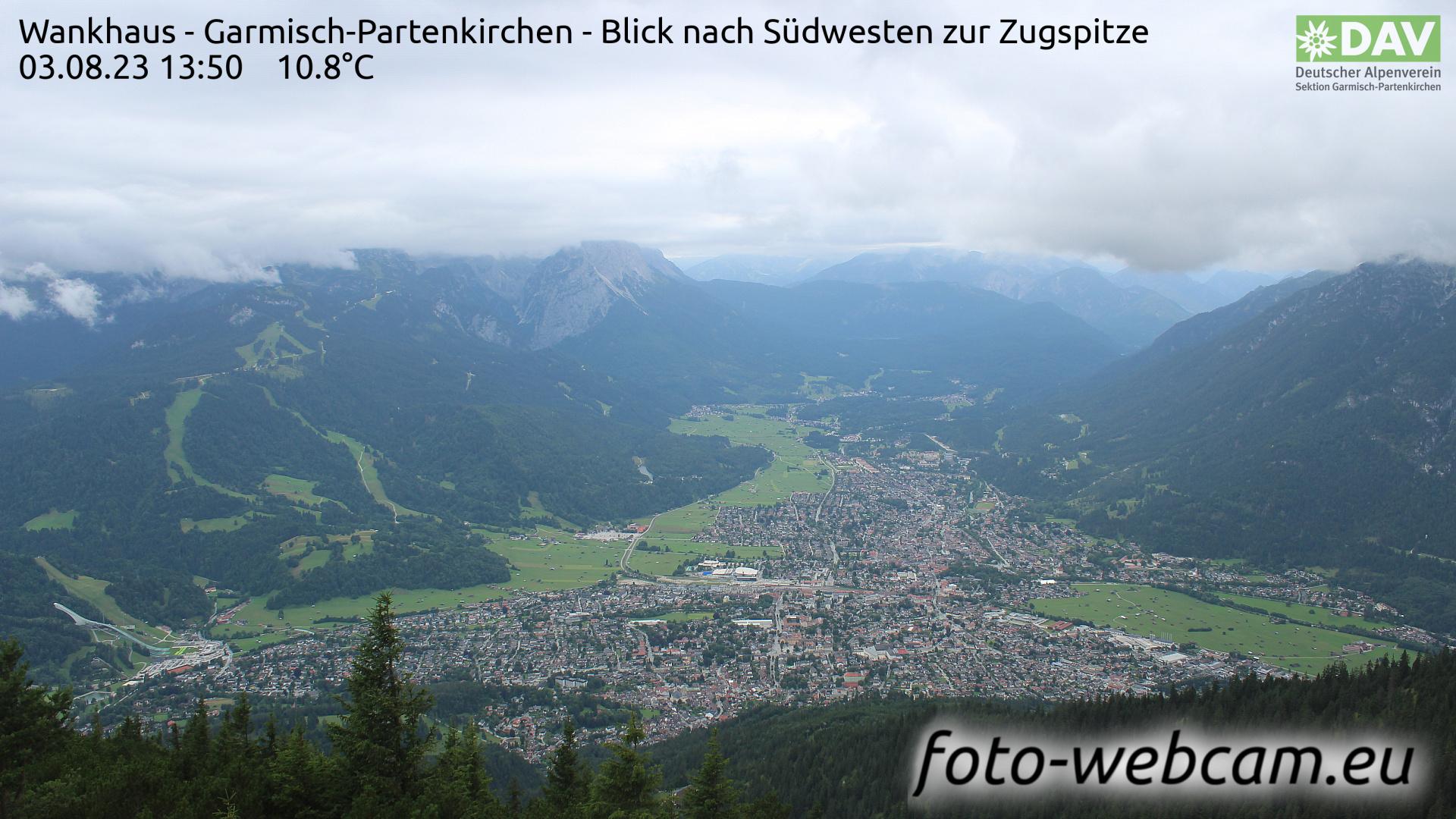Garmisch-Partenkirchen Mon. 13:52