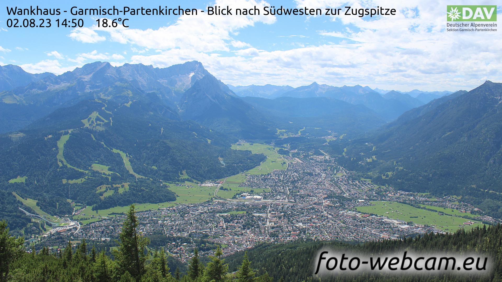 Garmisch-Partenkirchen Mon. 14:52