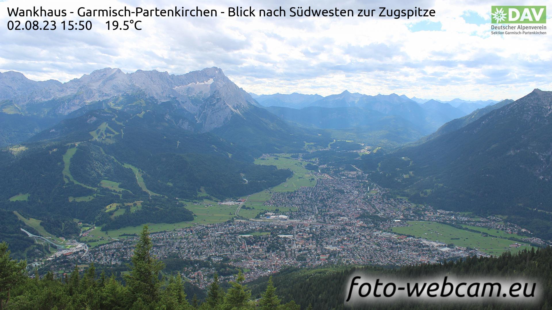 Garmisch-Partenkirchen Mon. 15:52