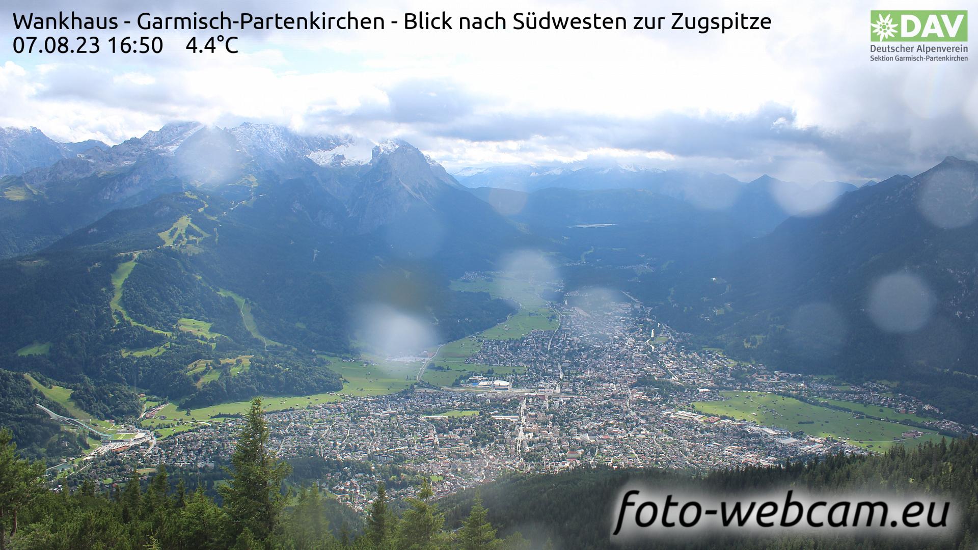 Garmisch-Partenkirchen Mon. 16:52