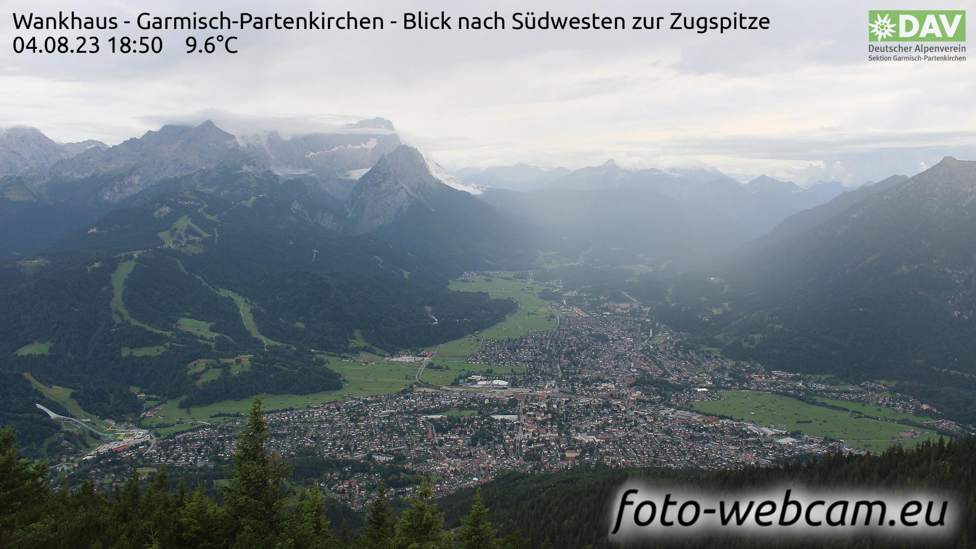 Garmisch-Partenkirchen Mon. 18:52