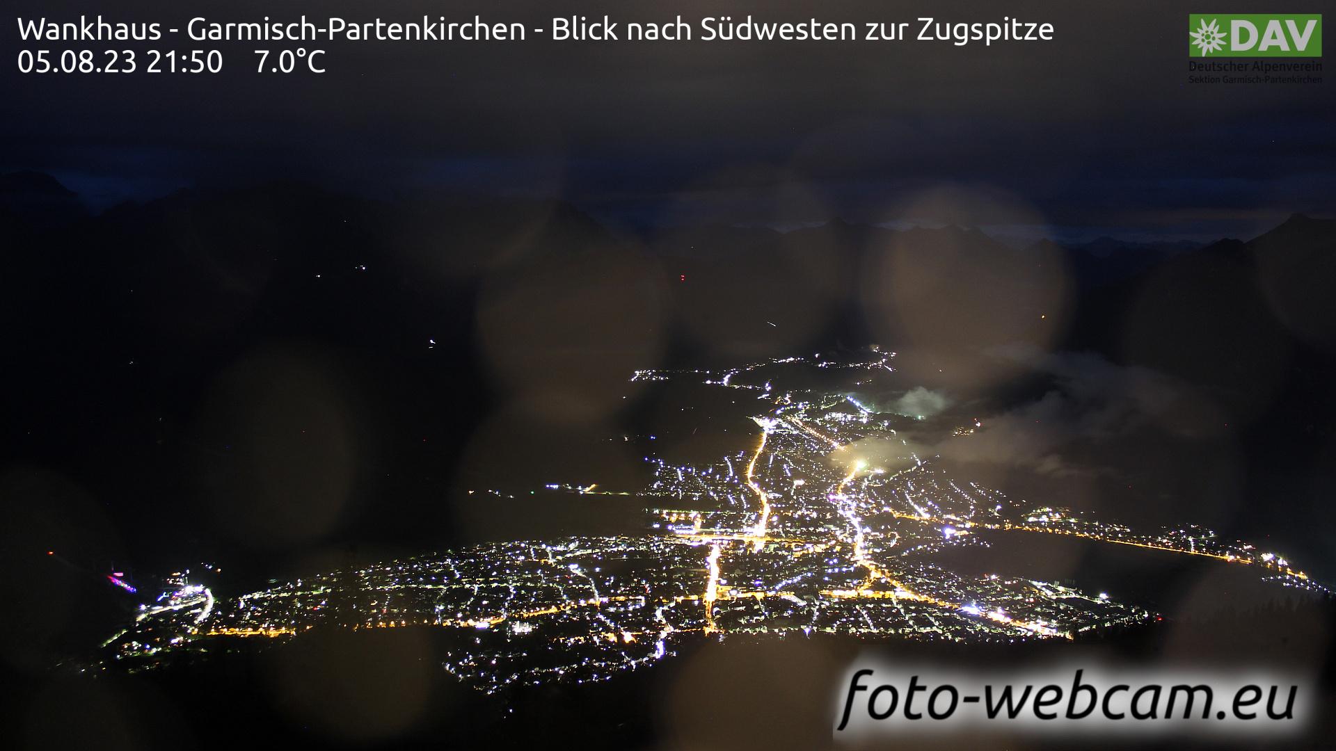 Garmisch-Partenkirchen Mon. 21:52