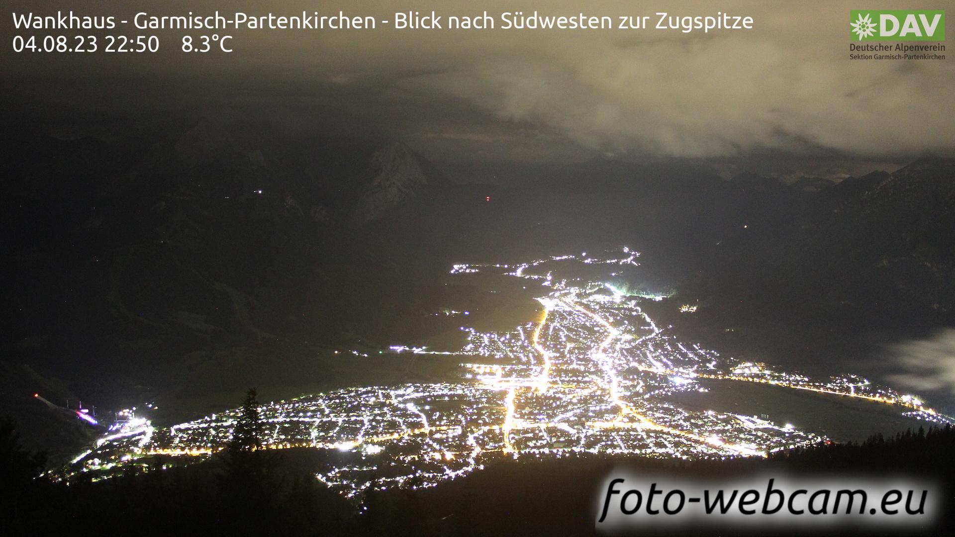 Garmisch-Partenkirchen Mon. 22:52