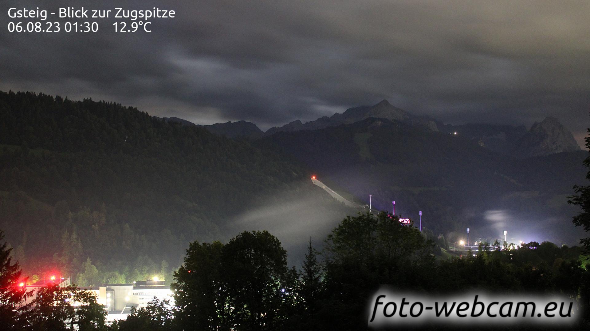 Garmisch-Partenkirchen Thu. 01:31