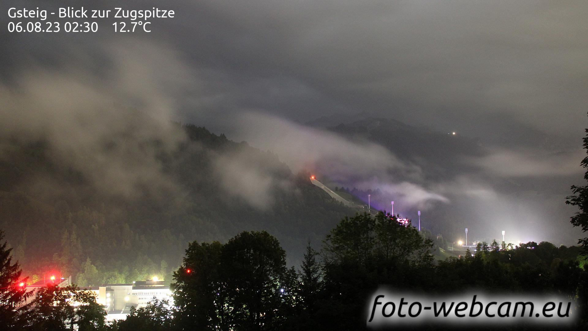 Garmisch-Partenkirchen Thu. 02:31